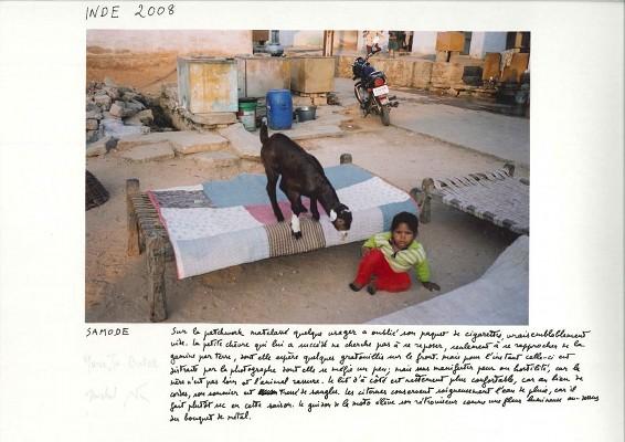 M. Butor©, « Samode », Inde, 2008.