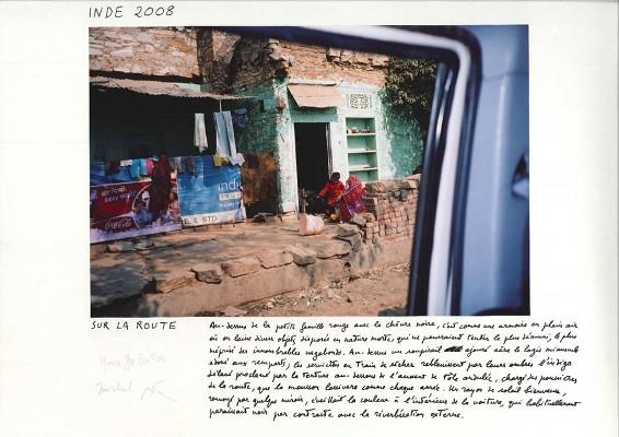 M. Butor©, « Sur la route », Inde, 2008.