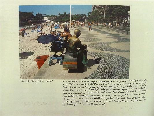 M. Butor© « A l'extrémité sud de la plage de Copacabana », Rio de Janeiro, 2005