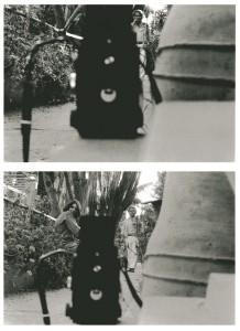 ©Denis Roche, « 8 avril 1982. Marrakech. Jardins Majorelle. » Courtesy Galerie Le Réverbère, Lyon