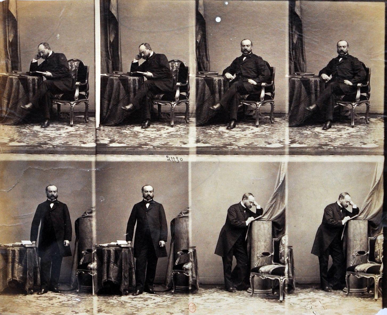 Theodore Schmidt Par Disderi 1860 Source CBnF
